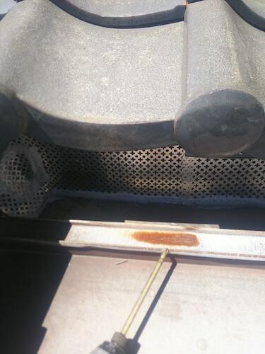 ネズミ封鎖施工写真2